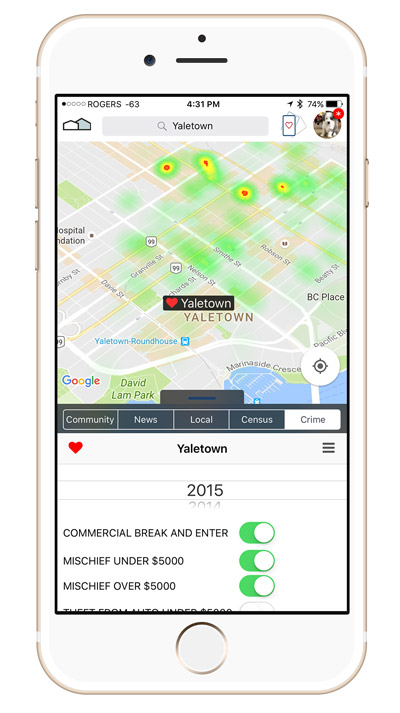 Download CityPOV App from Apple App Store